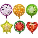 volflashy 風船 バルーン 子供 おもちゃ 6個 カラフル フルーツ 誕生日 お祭り パーティー 装飾