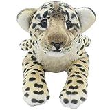 TAGLN おもちゃの動物ぬいぐるみ子供の枕誕生日プレゼント (40 CM, ブラウンチーター)