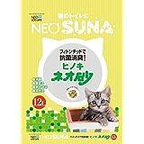 (まとめ) ネオ砂ヒノキ12L 〔猫砂〕〔ペット用品〕 〔×5セット〕