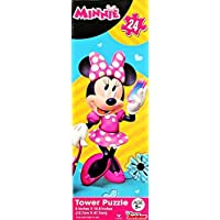 Disney Minnie Mouse Gift Set with Minnie Mouse Ears, Educational Workbooks, Colouring Book, Tote Bag & MORE