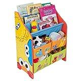 セサミストリート 本棚&おもちゃ箱 【84736】
