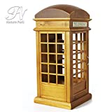 Nature Park 電話ボックス 高級 オルゴール 木製 プレゼント 音楽ボックス 恋人誕生日 ギフト結婚祝 君をのせて