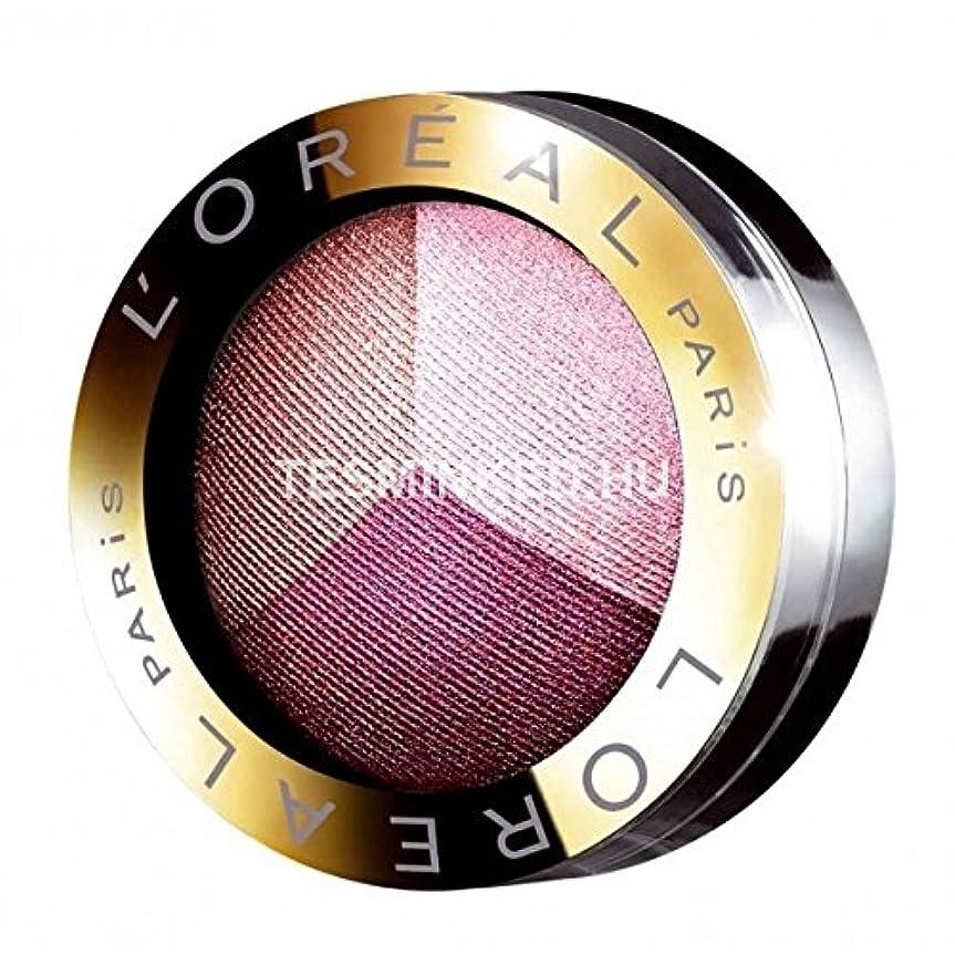 現代の浸す健康Eyeshadow Color Appeal Trio Pro L'Oréal No. 402 Addictive Plum