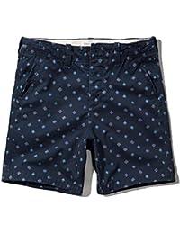 アバクロ Abercrombie&Fitch 正規品 メンズ ショートパンツ A&F Preppy Fit Shorts 7 Inseam 128-283-0536-022 並行輸入品 (コード:4091060206)