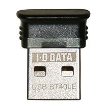 I-O DATA Bluetoothアダプター Class 2対応 4.0+EDR/LE対応 USBアダプター USB-BT40LE