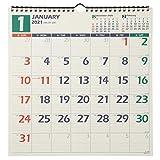 能率 NOLTY 2021年 カレンダー 壁掛け 20 A3変型 C127 ([カレンダー])