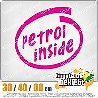 KIWISTAR - Petrol inside car 15色 - ネオン+クロム! ステッカービニールオートバイ