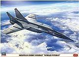 ハセガワ 1/72 インド空軍 ミグ25RBT フォックスバット ワールドフォックスバット プラモデル 02308