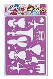 コヒノール テンプレート クラウン 9820008001 9820 2枚セット 正規輸入品 ピンク