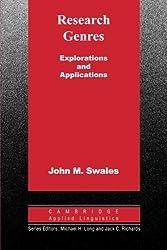 Research Genres: Explorations and Applications (Cambridge Applied Linguistics)