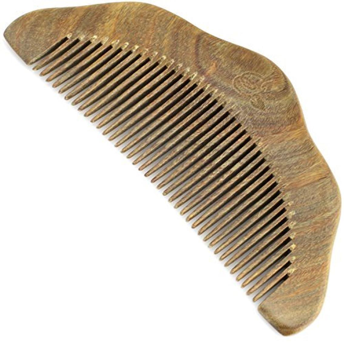 特殊エゴイズム本質的ではないEvolatree Wood Comb for Hair - Handmade Natural Wooden Combs with Anti-static & No Snag - Smoothing Vanity Comb...