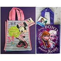[ディズニー]Disney Minnie Mouse Always Wear a Smile Frozen Princess Elsa Anna Strong Bond Strong Heart Tote Bundle [並行輸入品]