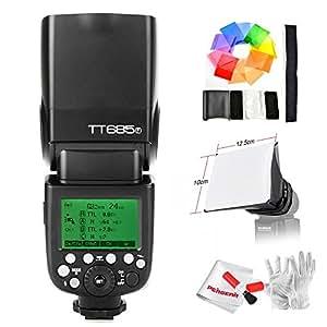 【Godox正規代理店&技適マーク付き& 一年保証】Godox TT685F 2.4G TTL GN60 1/8000S HSS カメラフラッシュスピードライト Fujiカメラ対応