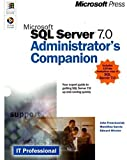 Microsoft SQL Server 7.0 Administrator's Companion (IT Professional)