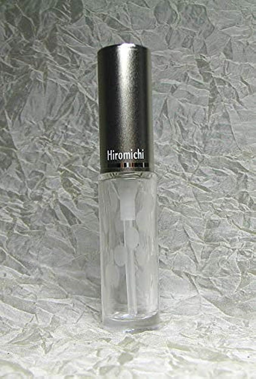 印をつけるオリエントガスパースグラスアトマイザー ハンドワーク 円筒壜 切子 斜水玉
