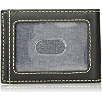 Wrangler mens Leather Bifold Wallet Wallet