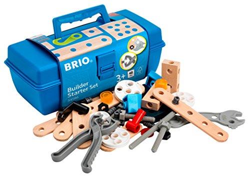 『BRIO (ブリオ) ビルダー スターターセット [ 工具遊び おもちゃ ] 34586』のトップ画像