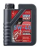 LIQUI MOLY リキモリ Motorbike 4T Synth 5W-40 Street Race 〈4サイクル用エンジンオイル〉 1L 1750