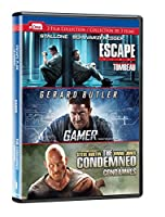 Escape Plan/Gamer/Condemned Dvd Triple Feature【DVD】 [並行輸入品]