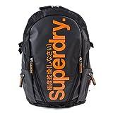 極度乾燥しなさい リュック バックパック バッグ メンズ 日本未上陸 レア Backpack バッグ 極度乾燥 アウトドア 山登り PCバッグ 多機能 大容量 防水 (ブラック×オレンジ) [並行輸入品]