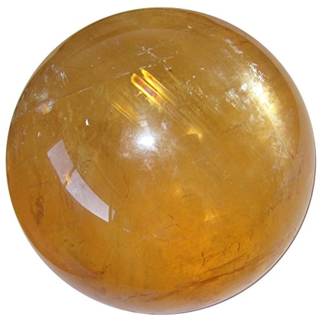 テレビを見るブースト例示するsatincrystals Calciteオレンジボール3.2
