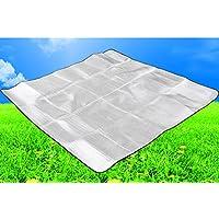 テントキャンプマット/アルミ箔ダブルマット/キャンピングピクニックマット/ Sleeping Pad /ビーチマット
