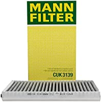 Mann-Filter CUK 3139 Cabin Air Filter with Activated Charcoal [並行輸入品]