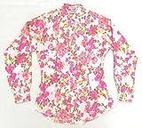 【KARMAN WESTERN SHIRTS】 長袖ウエスタン・シャツ (古着) 女性用 サイズ34 花柄