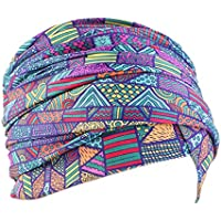 Baoblaze Chemo Headwear Headwrap Scarf Cancer Caps Gifts For Hair Loss Women,Ethnic Style