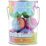 Crayola Crayola Color Your Bath Bucket Bath Bomb, 8 Count, (1 Pack), multi-colored