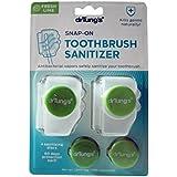 Dr. Tung's スナップオン歯ブラシ消毒2をEA(2パック) 2パック