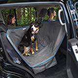 Kurgo Heather Half Dog Hammock Style Seat Cover for Pets, Pet Seat Cover, Dog Car Hammock – Waterproof, Heather Charcoal