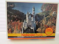 1000Pieceパズルkodacolor-neuschwanstein城