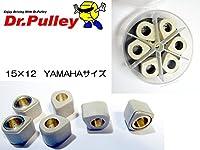 Dr.Pulley ドクタープーリー 変形型 15×12 (8.0g) YAMAHAサイズ 6個入り SR1512-8gIV