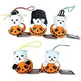 KRUNK×BIGBANG ハロウィンかぼちゃマスコット 全5種セット