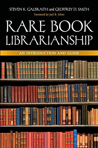 Download Rare Book Librarianship: An Introduction And Guide 1591588812
