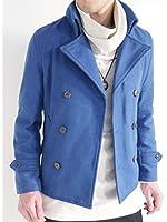 (オークランド) Oakland メルトン ウール Pコート コート ピーコート デザイナーズ 起毛 MODE デザイン 防寒 メンズ