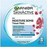 ガルニエ肌のナチュラル水分爆弾マスク x2 - Garnier Skin Naturals Moisture Bomb Mask (Pack of 2) [並行輸入品]