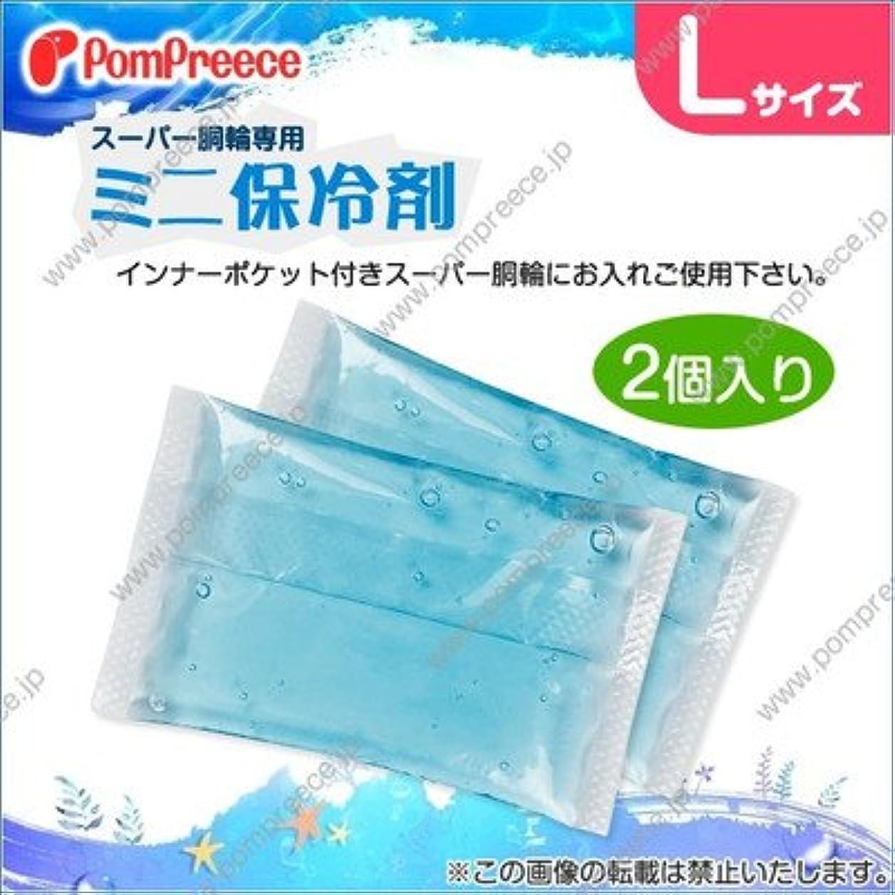 元の豆腐怒りスーパー胴輪用 ミニ保冷剤 L