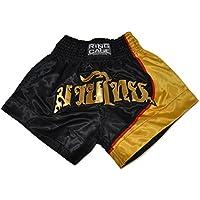 タイ式Shorts – ブラック/ゴールド