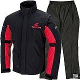 RS TAICHI アールエスタイチ/ドライマスター レインスーツ DRYMASTER RAIN SUITS カラー:ブラック/レッド サイズ:XXL 品番:RSR045