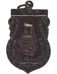 タイ宗教ジュエリーSpirituality仏教Amulets Holy Hermit Heads Lersi電源の成功