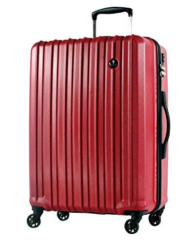 S型 クリムゾンレッド / PC7258 機内持込可 TSAロック搭載 キャリーバッグ スーツケース ハード 超軽量 小型 (1~3日用)