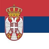Serbia–世界国国立フラグ–ビニールステッカー