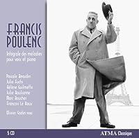 プーランク : 歌曲全集 (Poulenc : Integrales des melodies pour voix et piano)