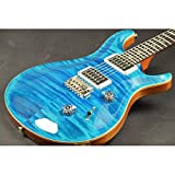 Paul Reed Smith (PRS) / KID Limited Custom24 2015 Blue Matteo/Pattern Regular Neck
