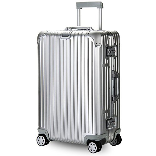 (リモワ) RIMOWA スーツケース キャリーバッグ TOPAS トパーズ 924.70.00.4 [TSAロック 日本語取扱説明書 1年保証 付き] (82L(シルバー))