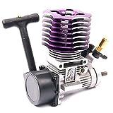 Hobbypower  RC 1/10 ニトロカーバギー EG630 用 SP 02060 BL VX 18 エンジンリコイル スターター 2.74cc  (紫)