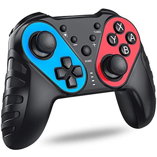 「色ランダム」Switch コントローラー NFC機能搭載 任天堂switchに対応 スイッチ コントローラー 無線BEBONCOOL pro コントローラー Nintendo switch に適用 TURBO機能付きジャイロ switch プロコン
