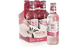 Manly Spirits Ready to Drink Lilly Pilly Pink Gin Carton, 275 ml (Pack Of 24)